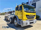 2018 Iveco Acco 8x4 Cab Chassis
