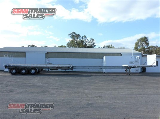 1998 Barker Flat Top Trailer Semi Trailer Sales - Trailers for Sale