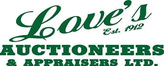 Love's Auctioneers & Appraisers Ltd.