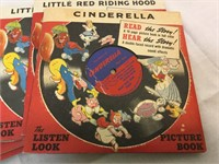 """Vintage """"The Listen look"""" picture books"""