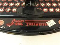 Louis Marx pair of vintage typewriters