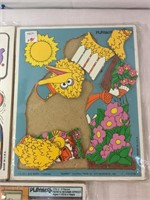 Playskool Sesame street puzzles