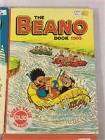 Beano vintage books- set of 4