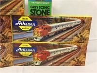 Athearn miniture trains kits -nib