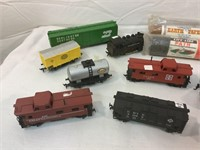 Vintage trains, parts and pieces and more