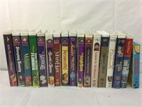Disney vintage VHS and more