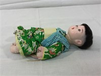 Asian vintage composition dolls