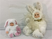 "Marie Osmond velveteen rabbit ""Hevenly Hair Doll"""