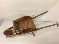 Folk Art wheelbarrow