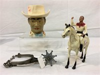 Vintage cowboy items and more