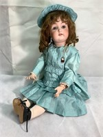 German J. D.K 214 Antique Bisque Doll