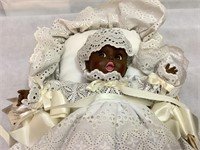 African American Gderber Baby Doll