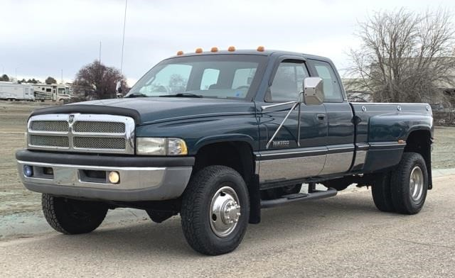 1996 dodge ram 3500 diesel manual 4x4 united country musick sons musick auction