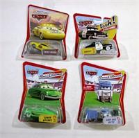Disney Pixar Cars set of 4