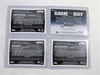 Football Cards set of 4