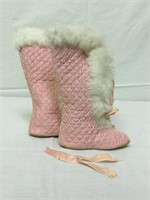 Antique Doll boots - pre 1900's