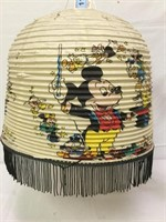 Vintage Mickey Mouse Paper Lantern Shade