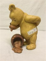 Collection of Vintage Winnie The Pooh collectibles
