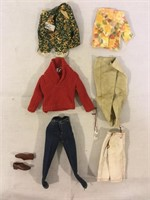 Ken Vintage Doll Clothes and more