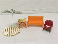 Mattel Vintage doll furniture and more