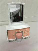 Vintage doll furniture and more