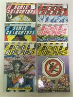 DC Comics Sonic Disrupters 1-6, Checktmate, and
