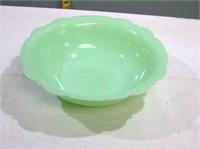 "Jadeite Bowl 8.5"" wide 2.5"" Tall no damage"
