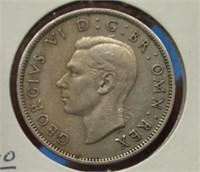 1948 England 2 Shillings