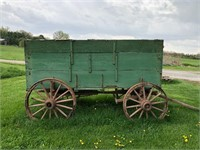 Wooden Wheel Farm Wagon, Woodworking Tools, Furniture misc