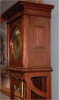 Art Nouveau German Grandfather Clock