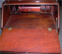 Antique Mahogany Drop Front Desk