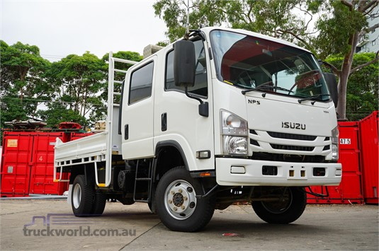 2016 Isuzu NPS 300 4x4 Suttons Trucks - Trucks for Sale