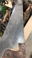 Box Lot Of Hand Saws