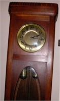 Grandfather Clock Oak Cabinet Late 20's early 30's