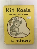 "Kit koala "" The Shy Little Bear "" 1948 Book"
