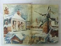 Christmas in dickens vintage book 1941