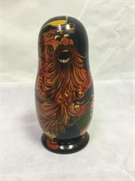 Ars. Comp. Vintage Handpainted Russian Nesting dol