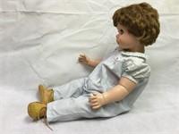 Vintage Talking Large Plastic Doll