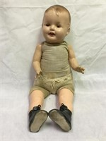 Antique Composition open mouth baby doll