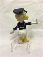 Donald Duck Vintage Plastic Figurines