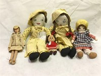 1940's Rag dolls and more