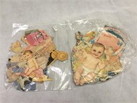 Vintage Orginial Paper Dolls and more
