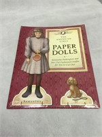 American Girl Paper Dolls and more