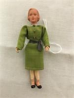 70's Doll house vintage bendable dolls