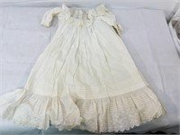 Antique doll dress & boots
