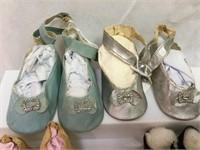 Antique/vintage doll shoes