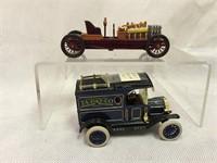 Die-cast vintage cars