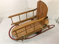 Flexible Flyer vintage sled