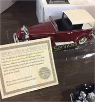 Die Cast Cars 1931 Cadillac V-16 Roadster with...