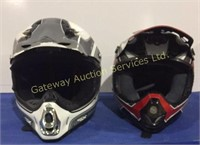 Helmets Size Small and Medium